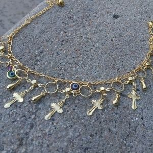 Jewelry - Gold ankle bracelet $25